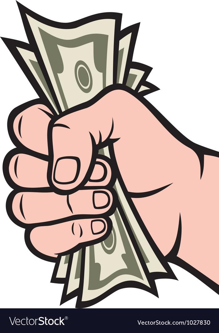 Money in hand vector   Price: 1 Credit (USD $1)