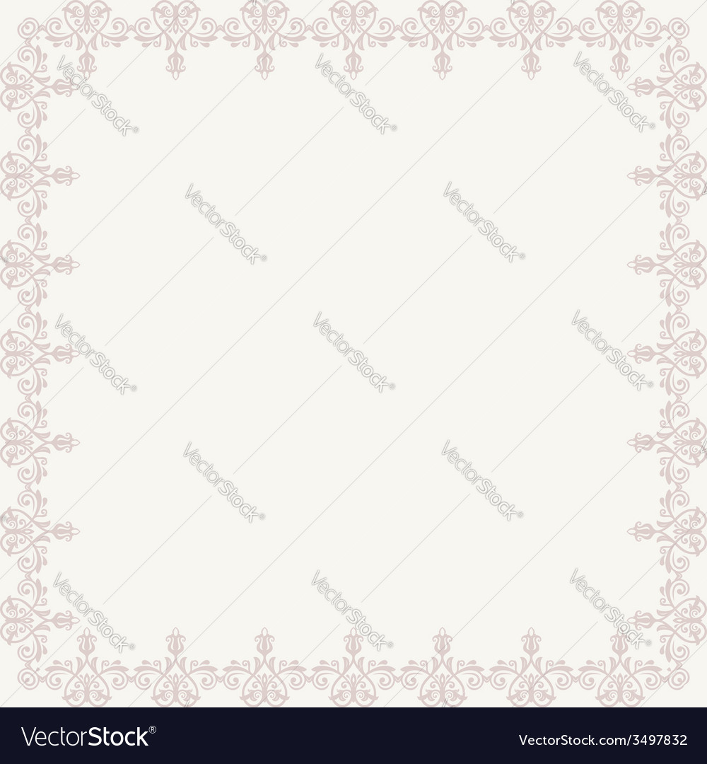 Floral pattern abstract ornament vector | Price: 1 Credit (USD $1)