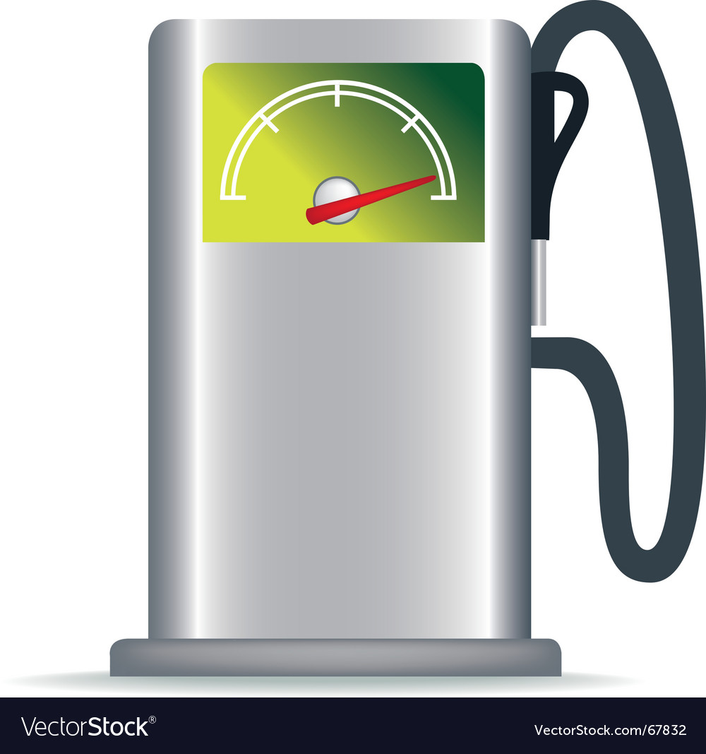 Green petrol pump vector | Price: 1 Credit (USD $1)