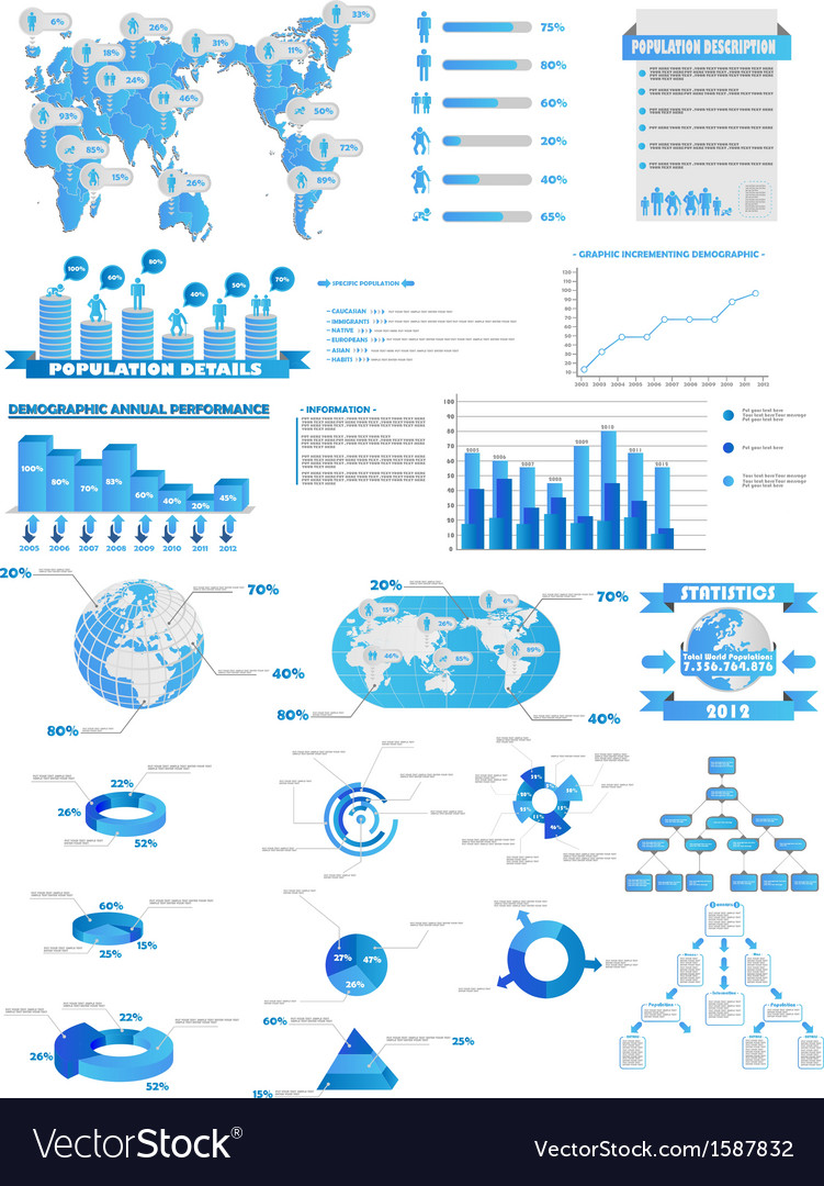 Infographic web collection vector | Price: 1 Credit (USD $1)