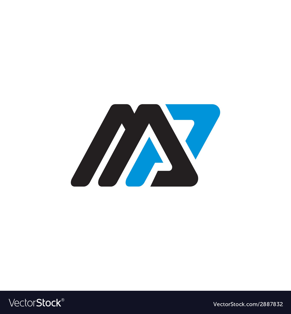 Sign the letter m and p vector | Price: 1 Credit (USD $1)