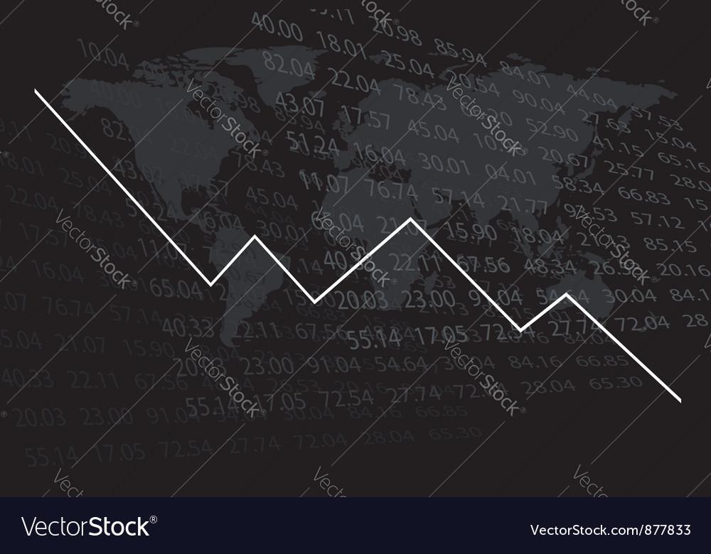 Diagram shows decrease vector | Price: 1 Credit (USD $1)