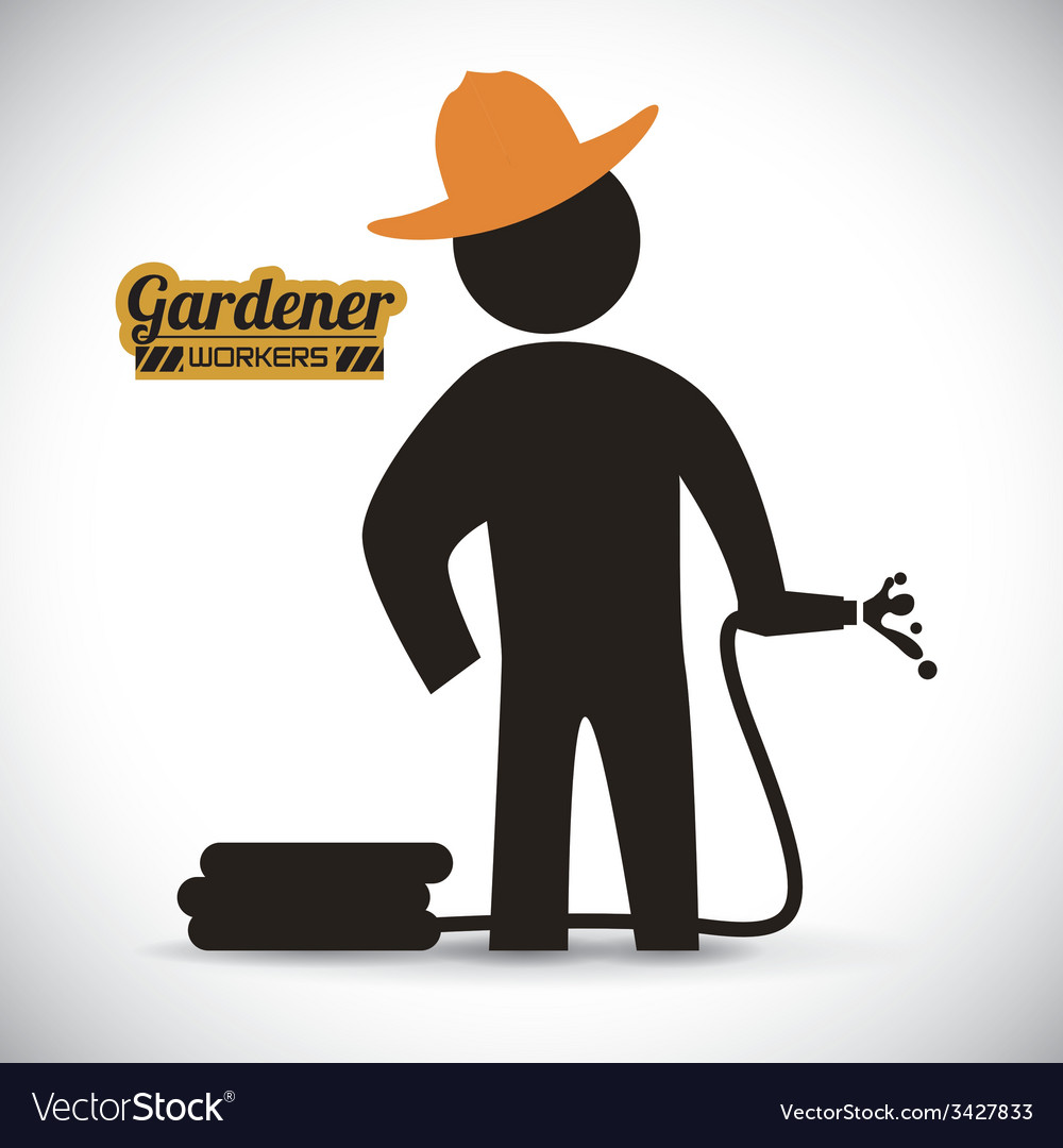 Gardener design vector | Price: 1 Credit (USD $1)