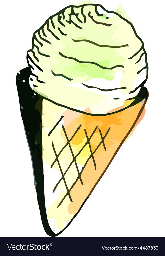 Icecream vector | Price: 1 Credit (USD $1)