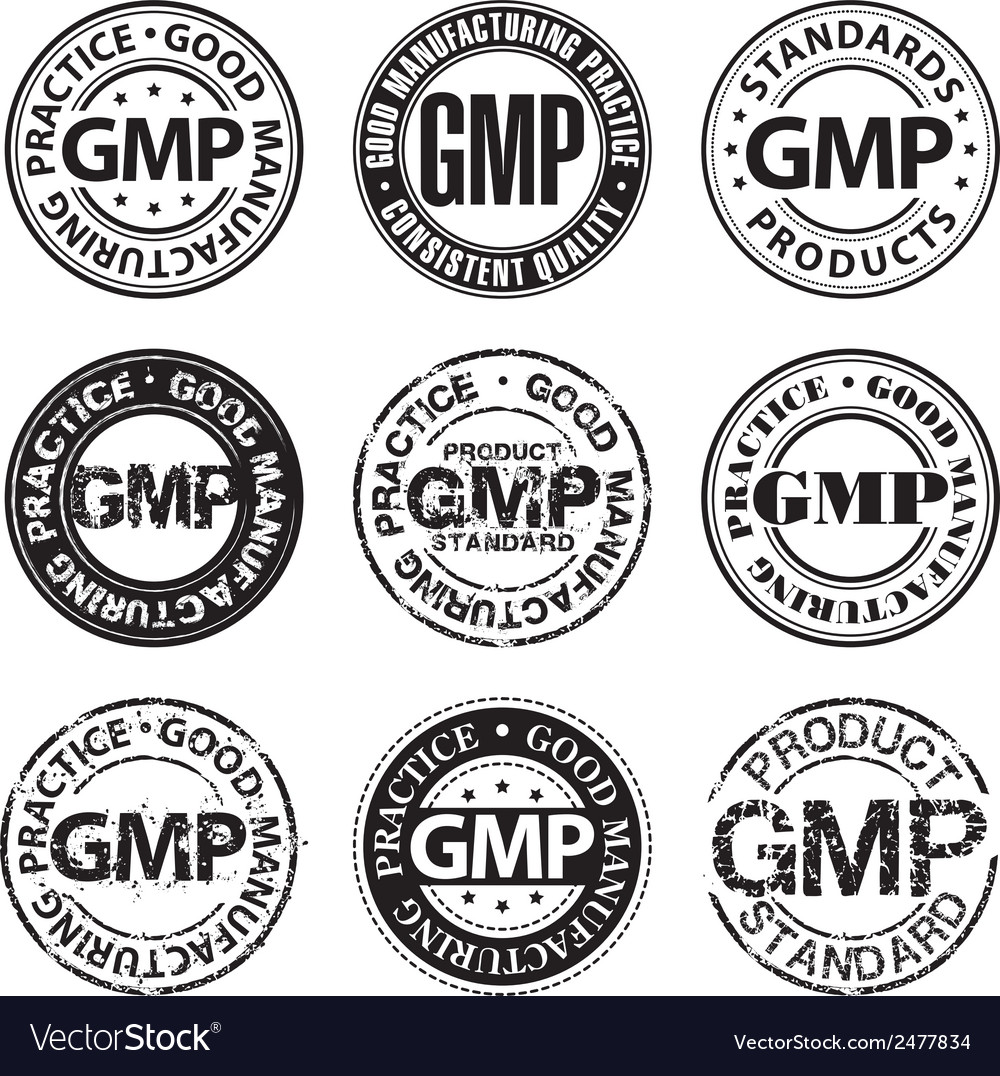 Good manufacturing practice stamp vector | Price: 1 Credit (USD $1)