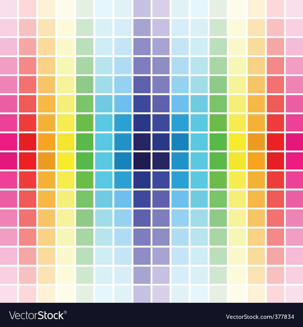 Palette rainbow colors vector | Price: 1 Credit (USD $1)