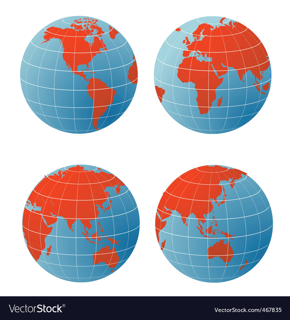 Geographical icons vector | Price: 1 Credit (USD $1)