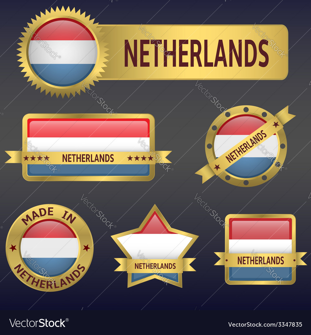 Netherlands vector | Price: 3 Credit (USD $3)