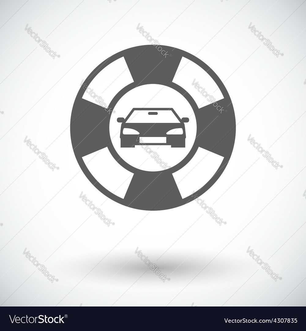 Roadside symbol vector | Price: 1 Credit (USD $1)