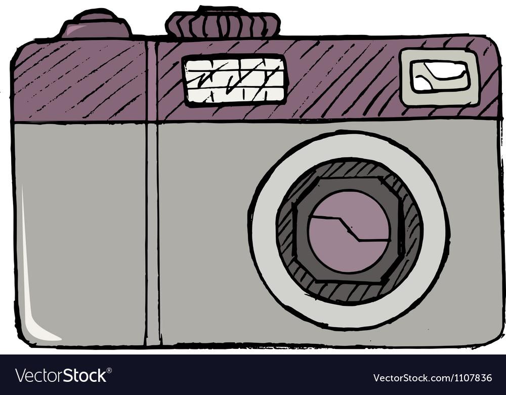 Digital photo camera vector   Price: 1 Credit (USD $1)