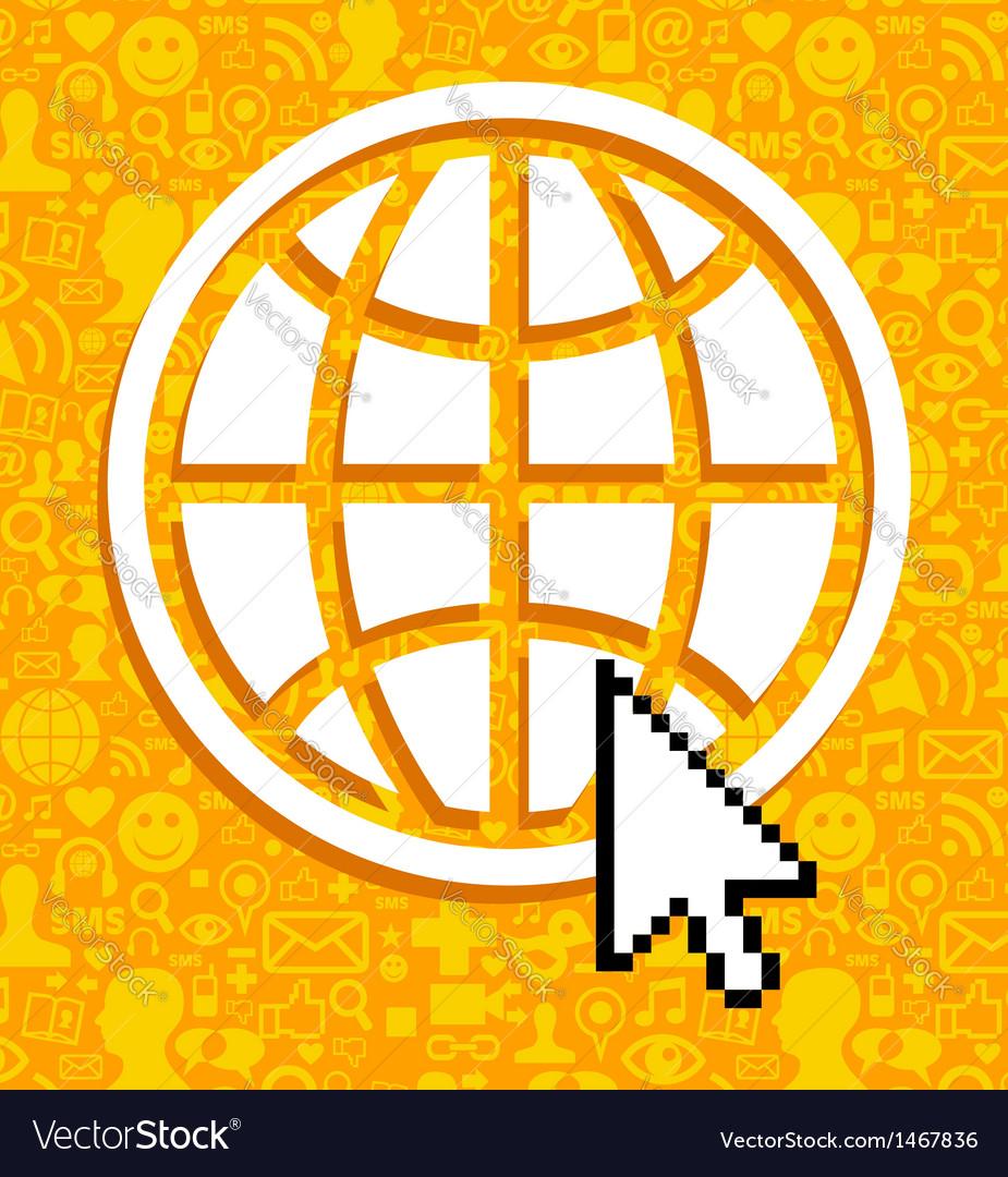 Global communications symbol vector | Price: 1 Credit (USD $1)