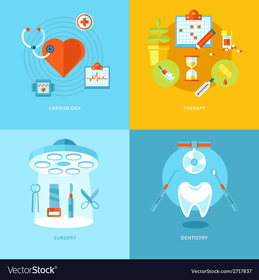 Medical and health icons set for web design mobile vector | Price: 1 Credit (USD $1)