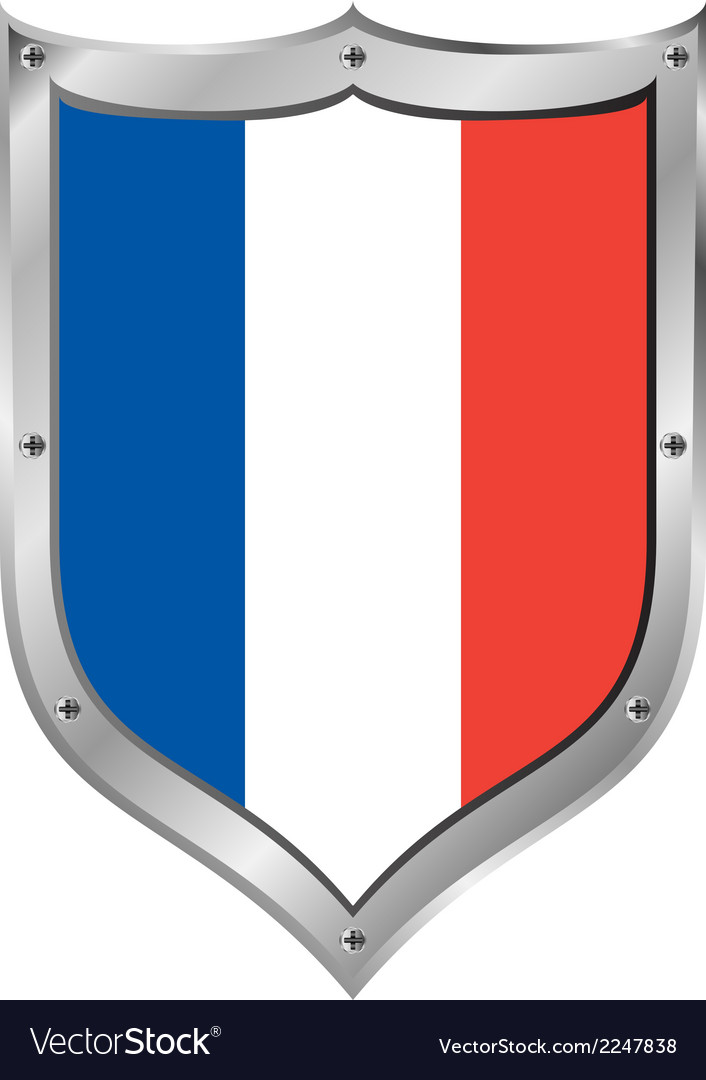 France flag button vector   Price: 1 Credit (USD $1)