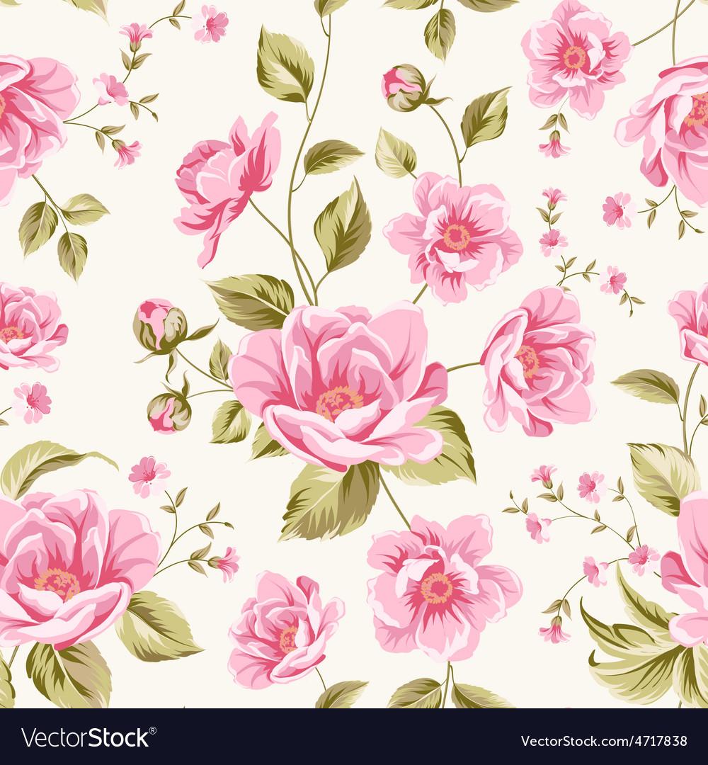 Luxurious peony pattern vector | Price: 1 Credit (USD $1)