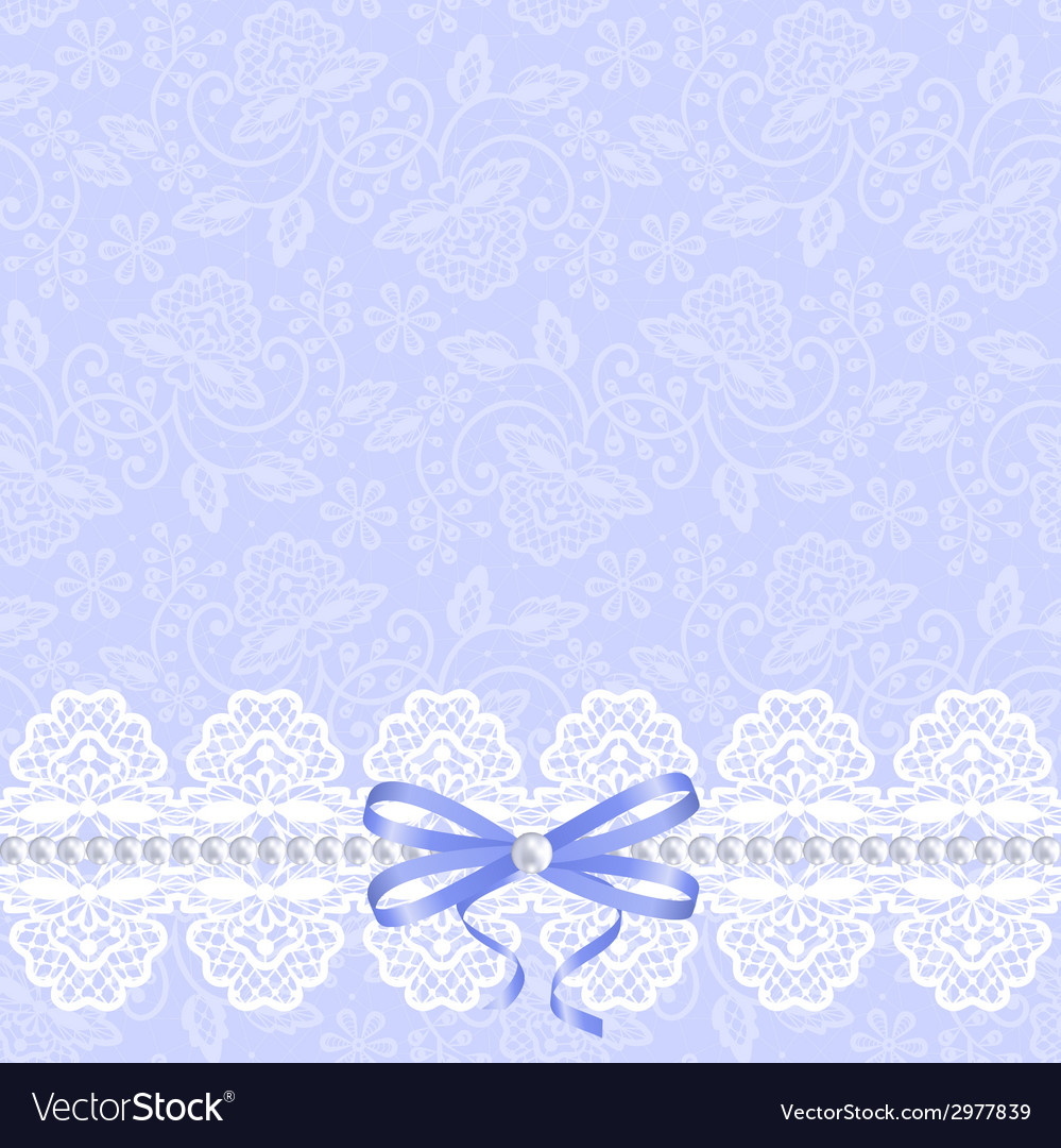 Card with white lace vector | Price: 1 Credit (USD $1)