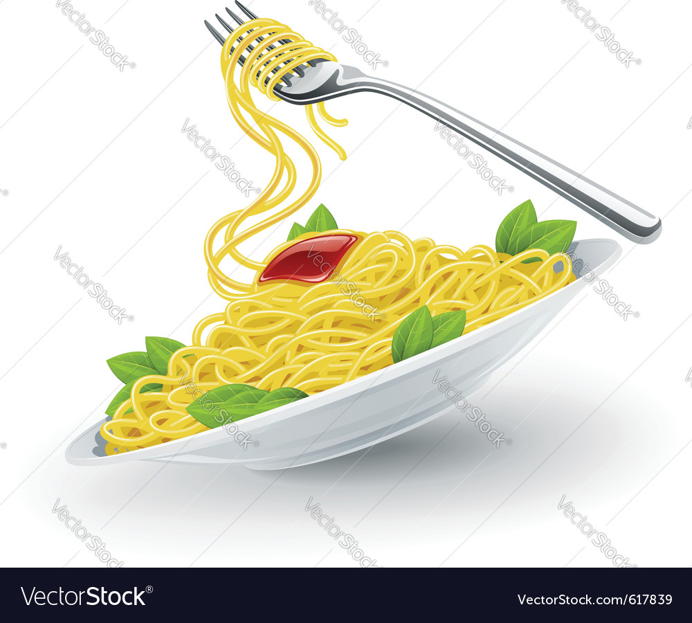 Italian pasta vector | Price: 3 Credit (USD $3)