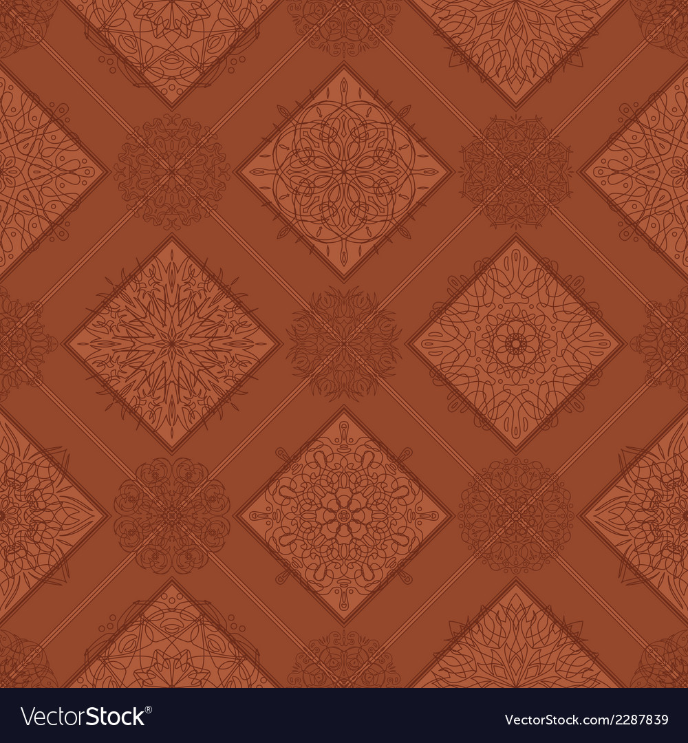 Seamless tile abstract pattern vector   Price: 1 Credit (USD $1)