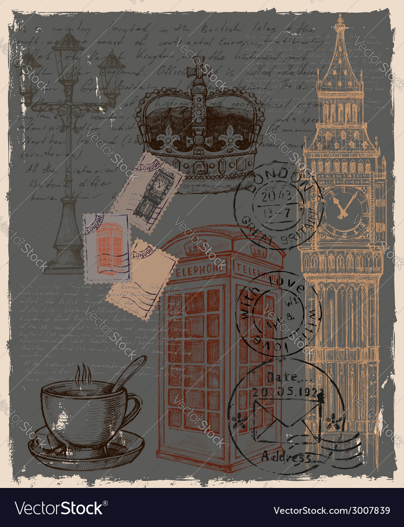 Telephone great britain vector | Price: 1 Credit (USD $1)