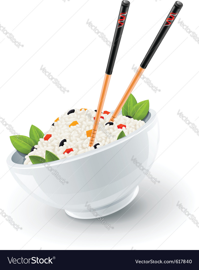 Chinese rice vector | Price: 3 Credit (USD $3)