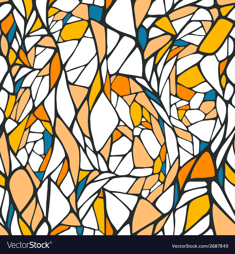 Seamless pattern with ornament vector | Price: 1 Credit (USD $1)