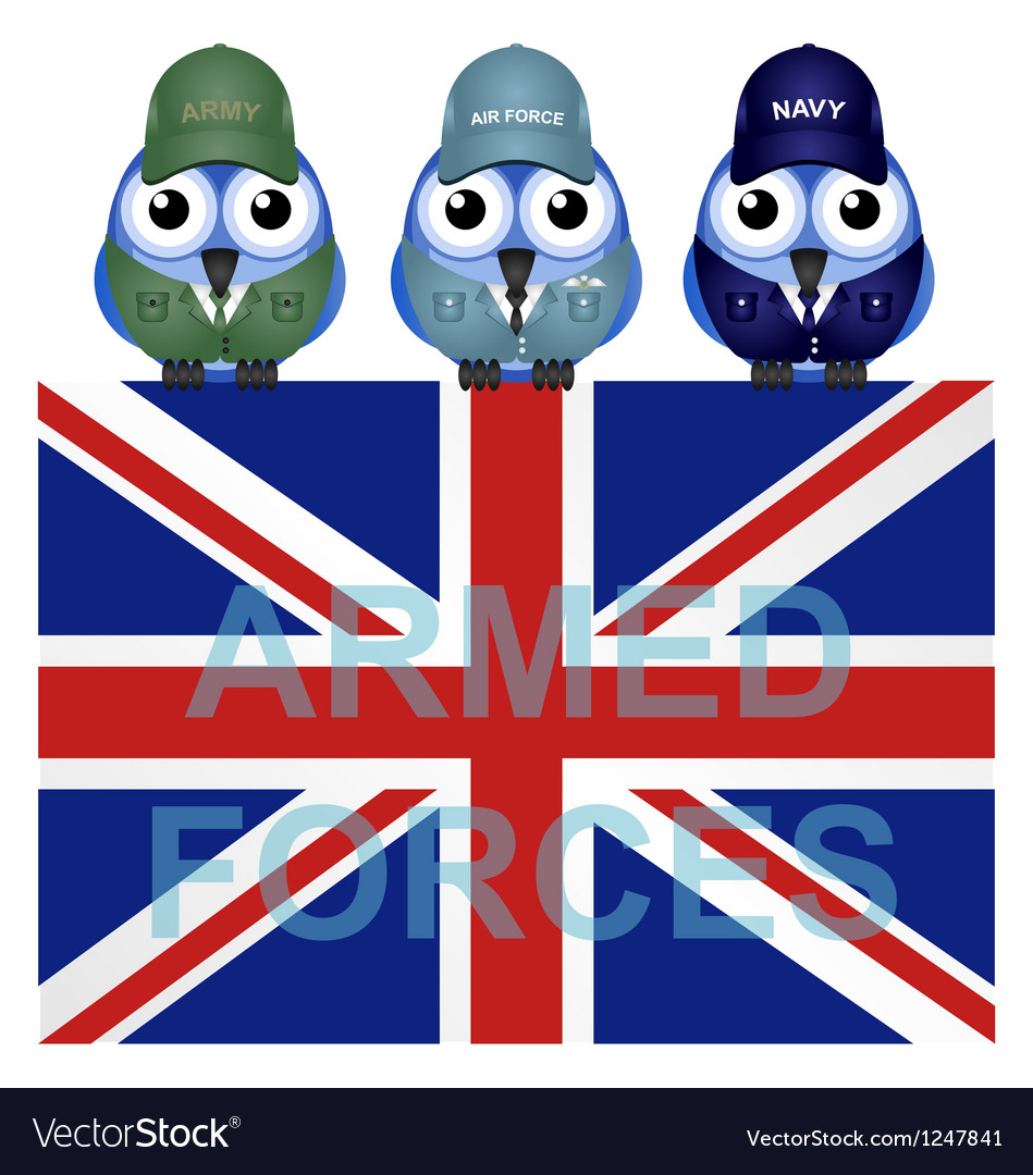 Armed forces uk vector | Price: 1 Credit (USD $1)