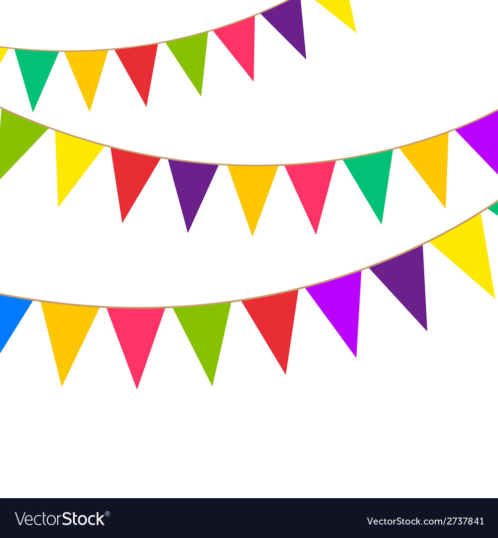 Party bunting vector | Price: 1 Credit (USD $1)