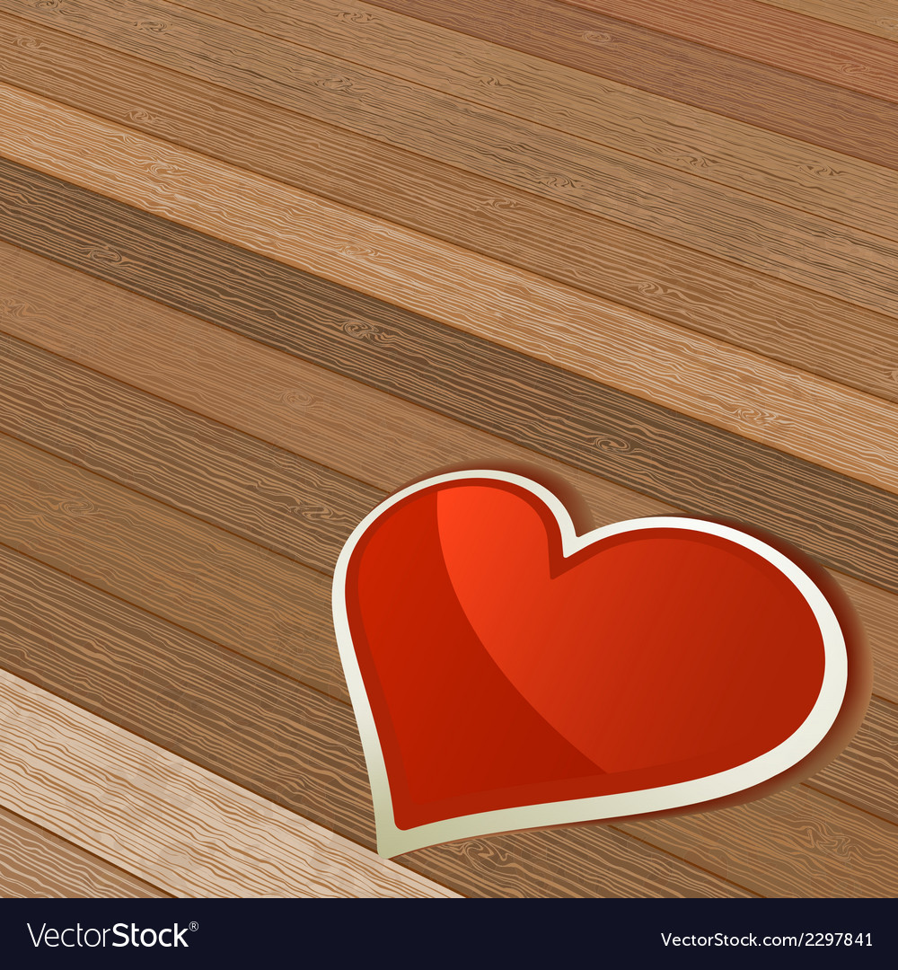 Valentines day background with heart  eps8 vector | Price: 1 Credit (USD $1)