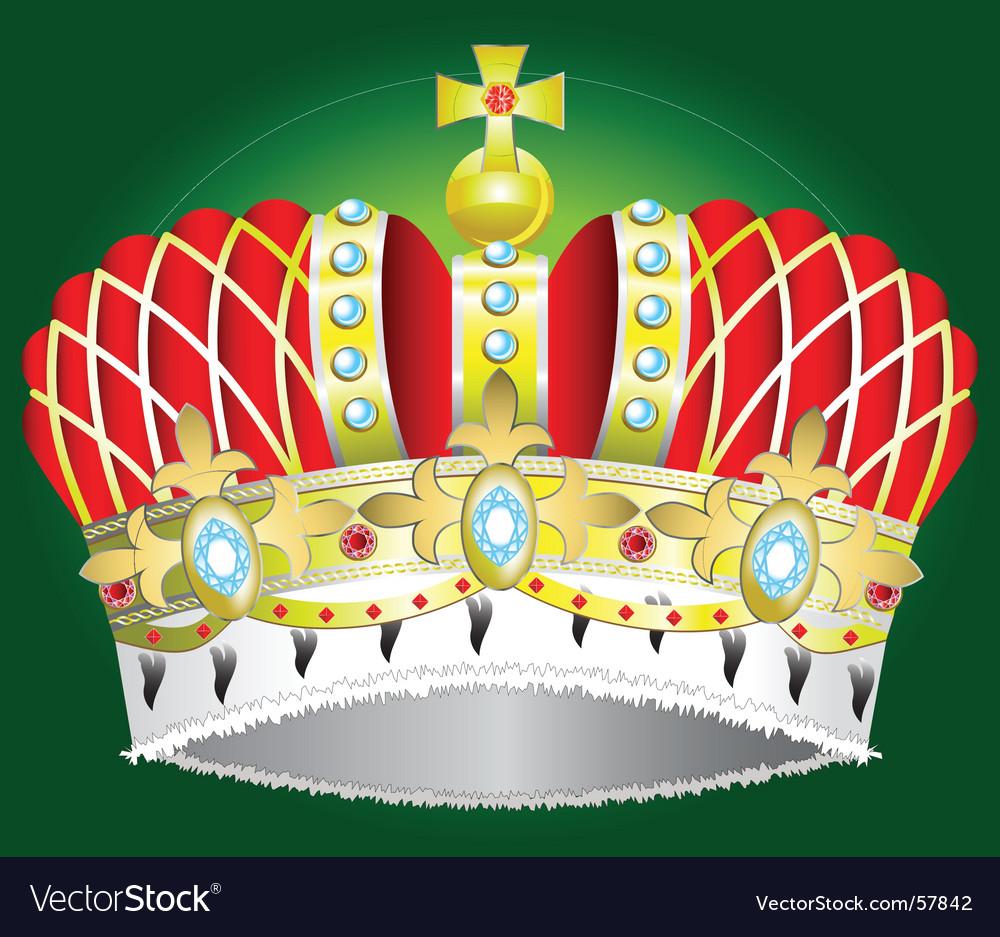 Medieval royal crown vector | Price: 1 Credit (USD $1)