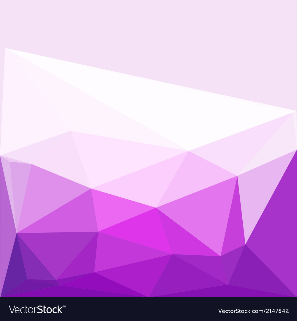 Polygon abstract pattern background in flat color vector | Price: 1 Credit (USD $1)