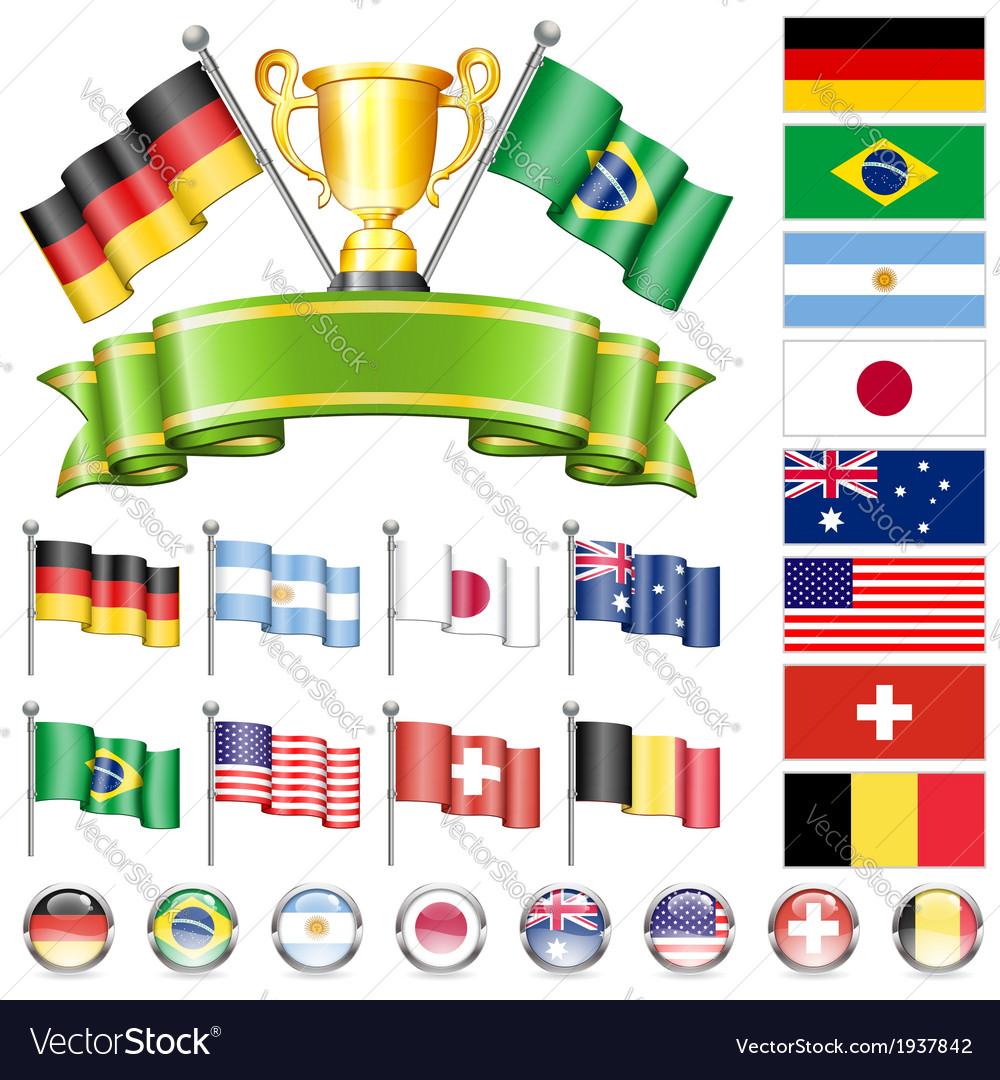 Soccer championship vector | Price: 3 Credit (USD $3)