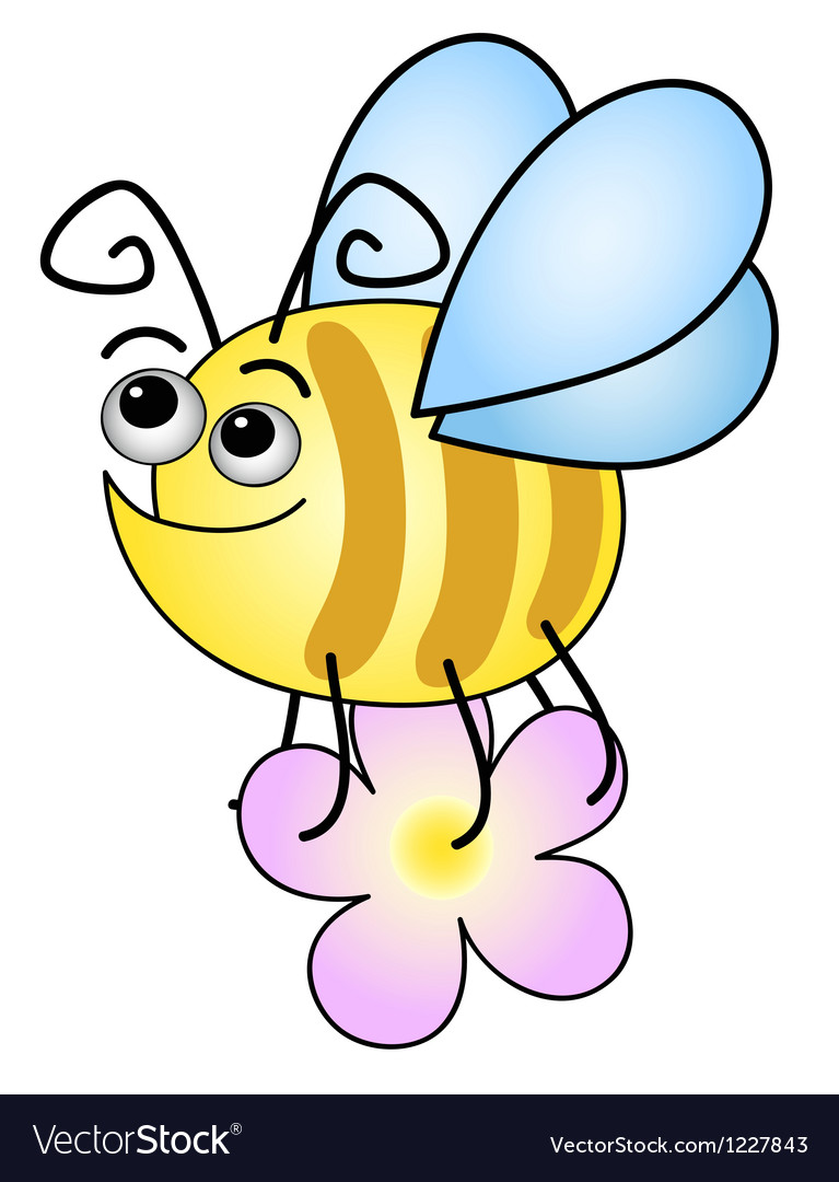 Funny bee vector | Price: 1 Credit (USD $1)