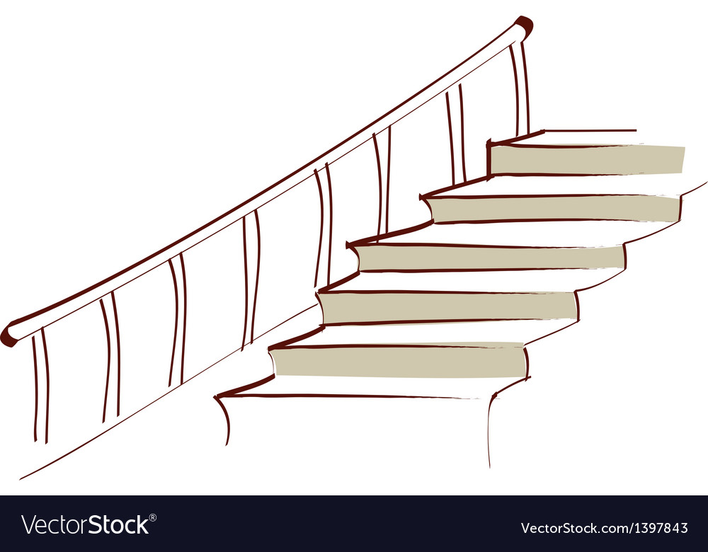Icon stairs vector | Price: 1 Credit (USD $1)