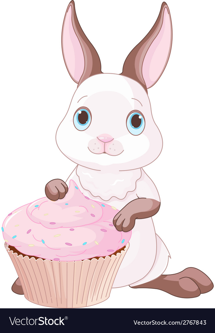 Sweet bunny vector | Price: 1 Credit (USD $1)