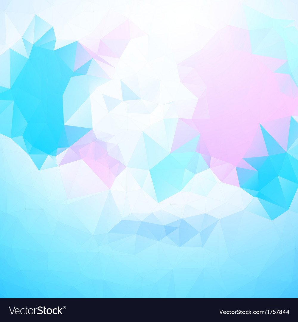 Abstract background polygonal pattern vector | Price: 1 Credit (USD $1)