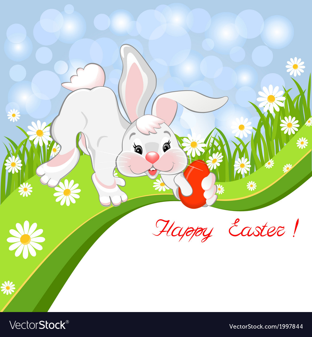 Easter greeting card vector   Price: 1 Credit (USD $1)