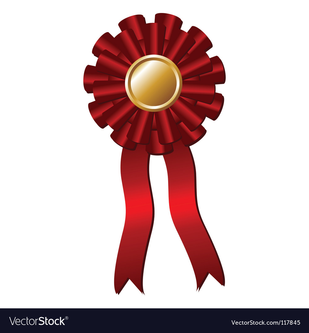 Award rosette vector | Price: 1 Credit (USD $1)