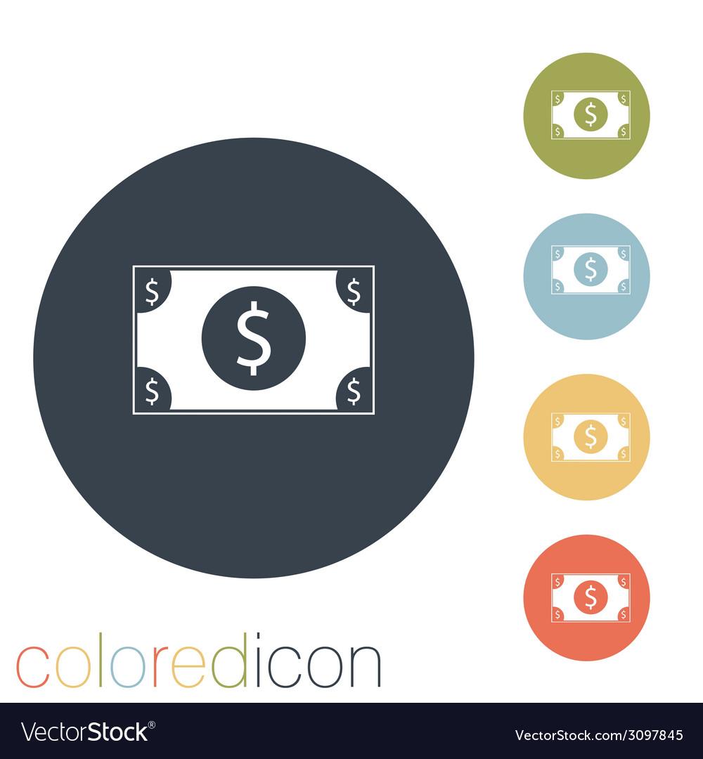 Dollar bill vector | Price: 1 Credit (USD $1)