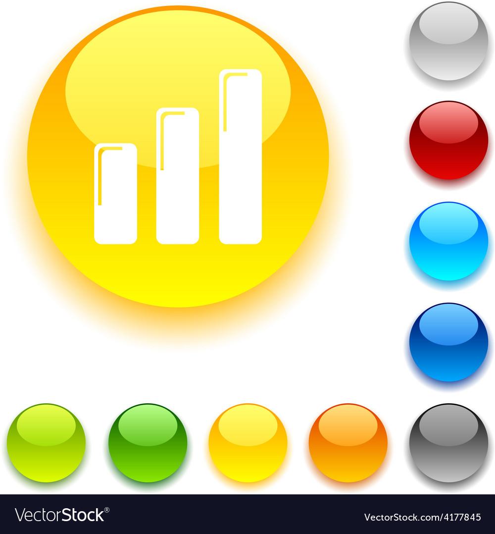 Graph button vector | Price: 1 Credit (USD $1)