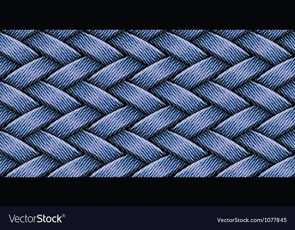 Jeans weaving vector