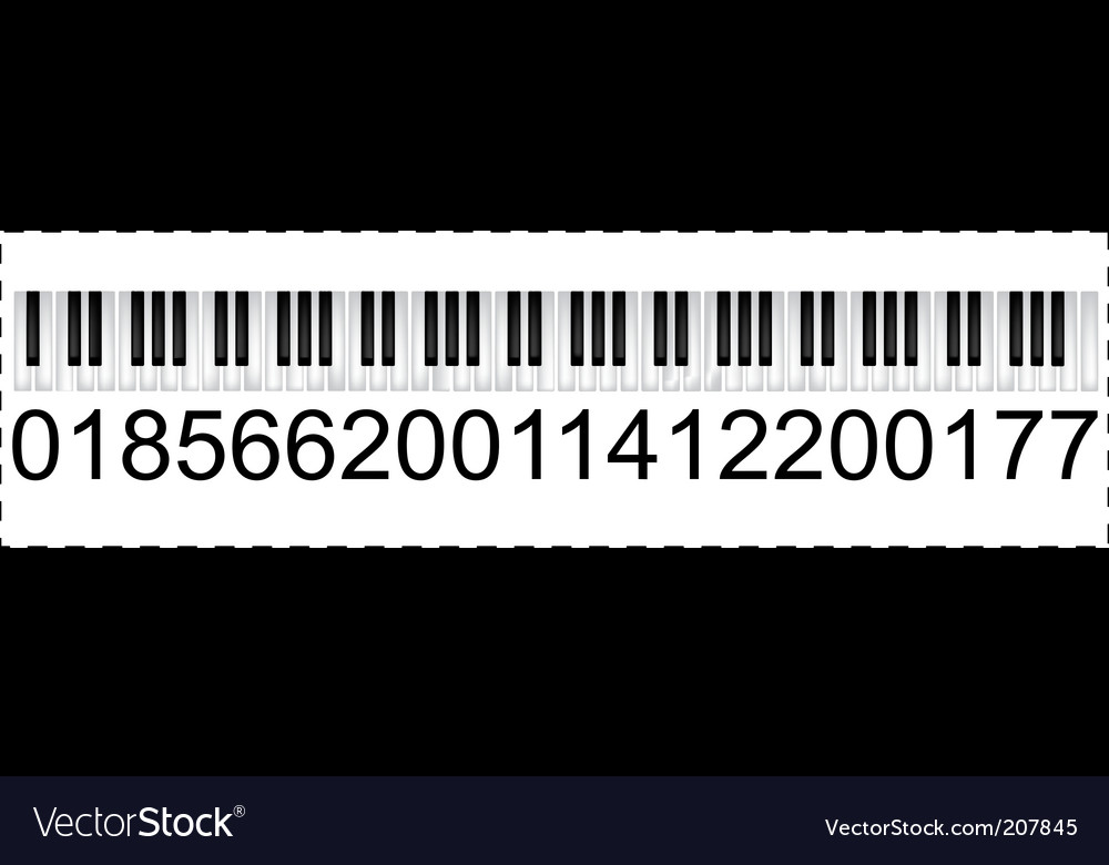 Musical trademark vector | Price: 1 Credit (USD $1)