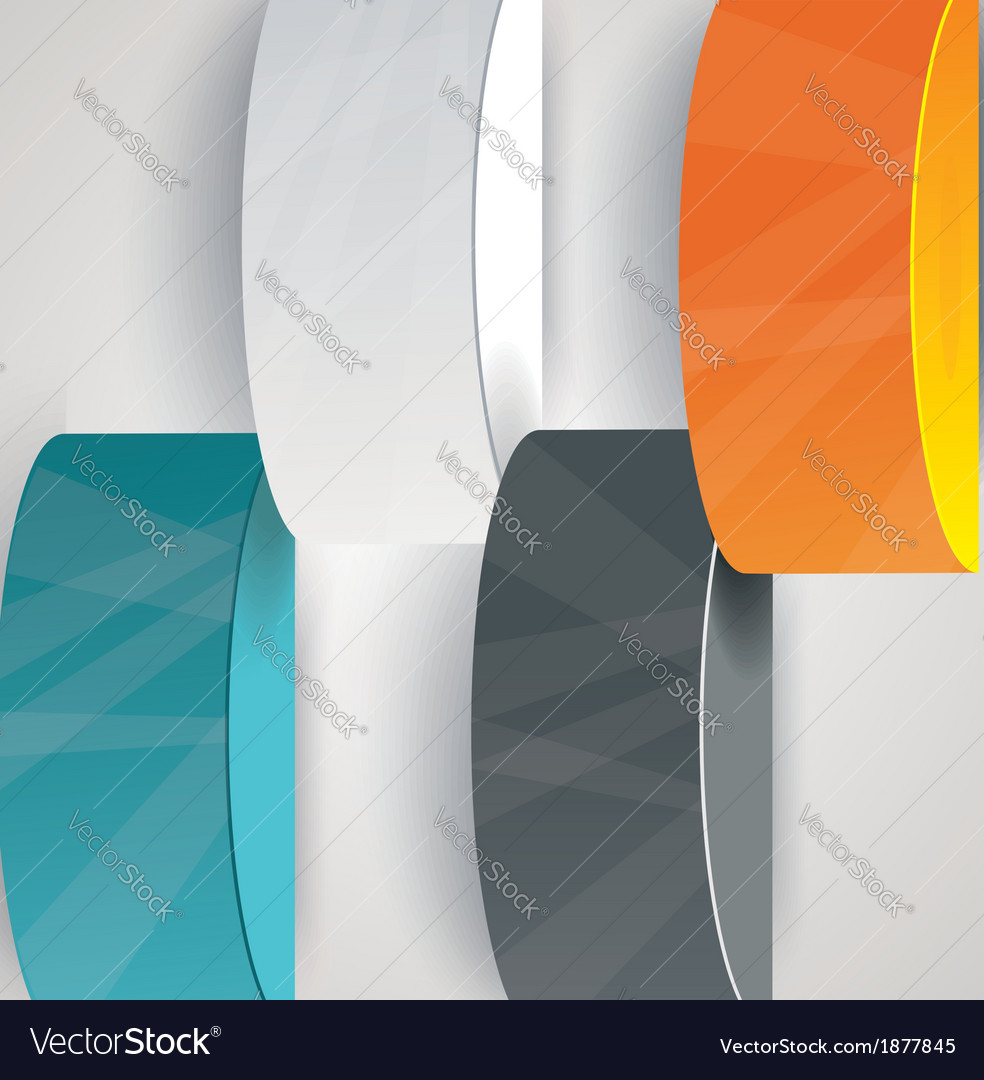 Pillars with your indicators business infographics vector | Price: 1 Credit (USD $1)