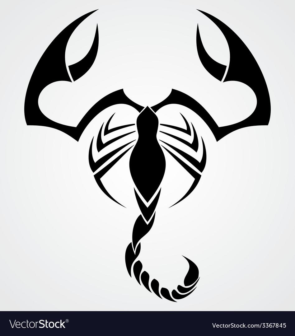 Tribal scorpion vector | Price: 1 Credit (USD $1)