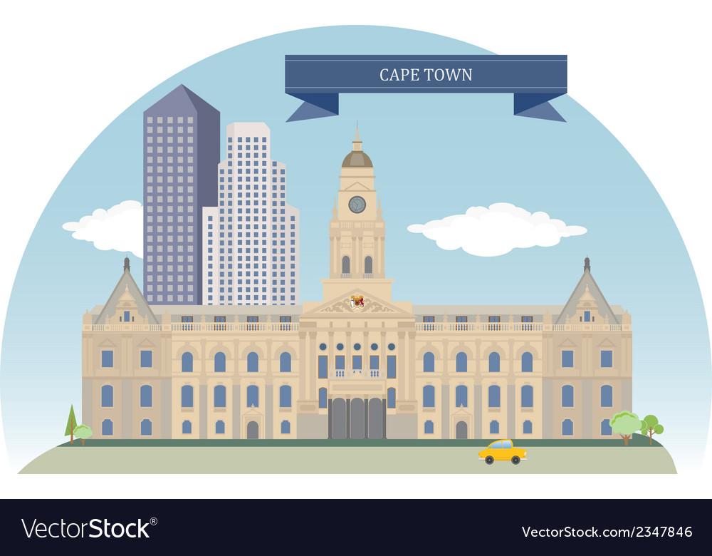Cape town vector   Price: 1 Credit (USD $1)