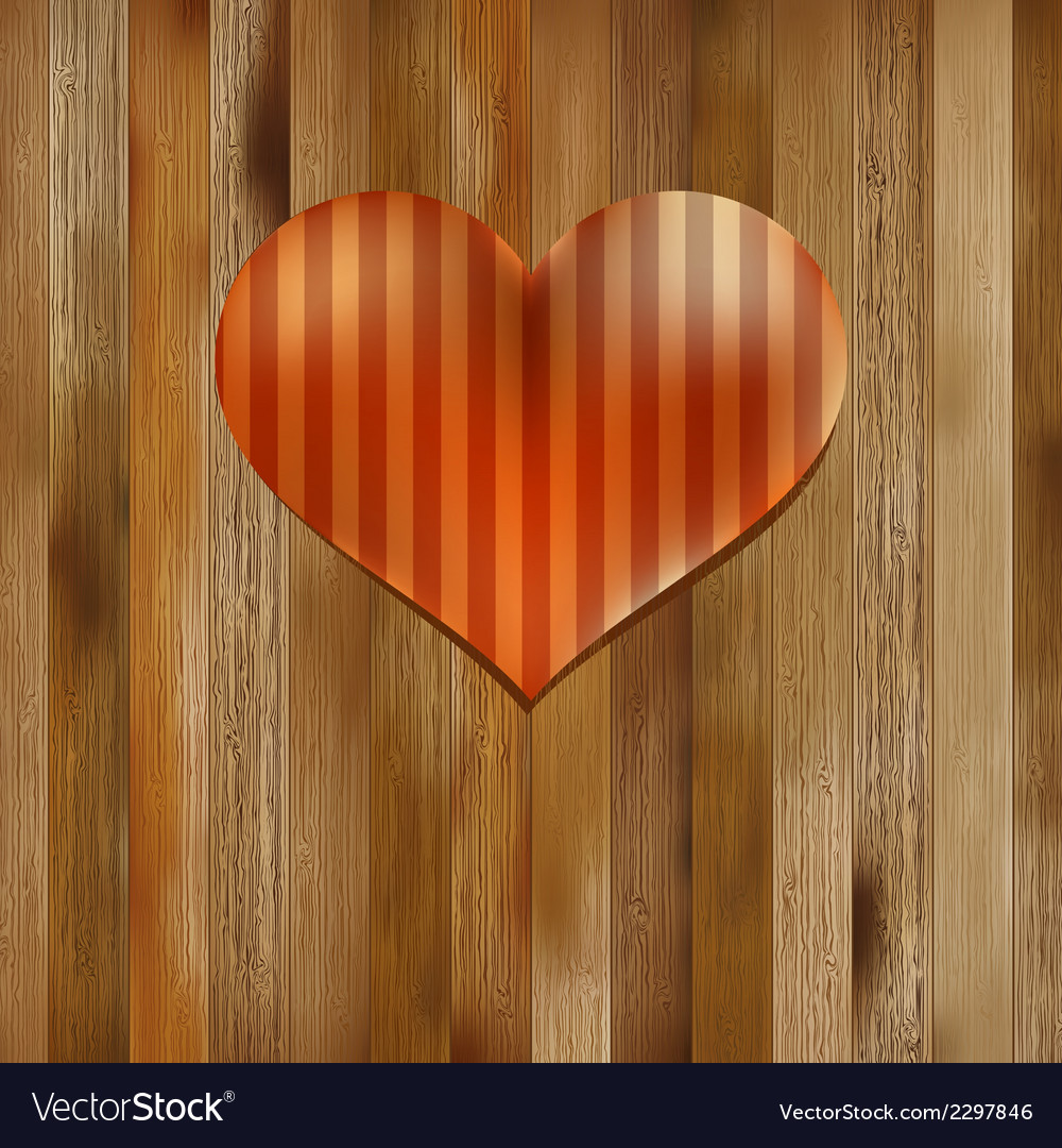Heart shaped valentines day symbol  eps8 vector | Price: 1 Credit (USD $1)