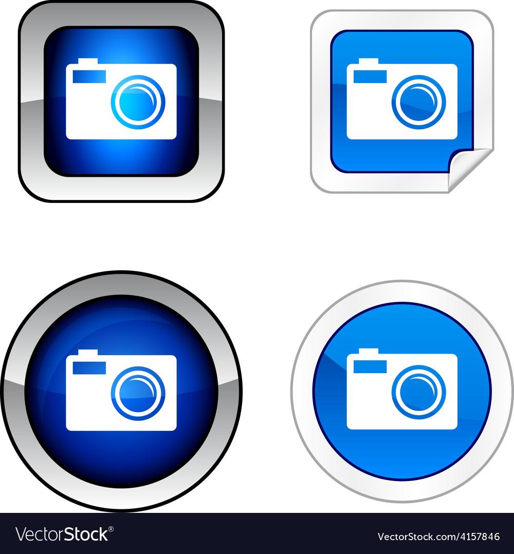 Photo button set vector   Price: 1 Credit (USD $1)