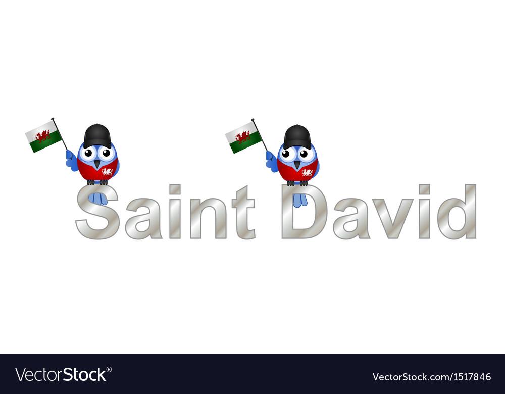 Saint david vector | Price: 1 Credit (USD $1)