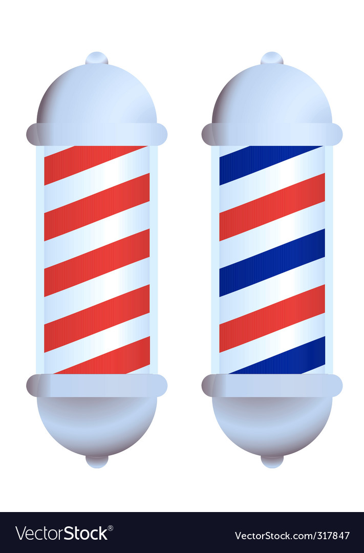 Barbers pole vector | Price: 1 Credit (USD $1)
