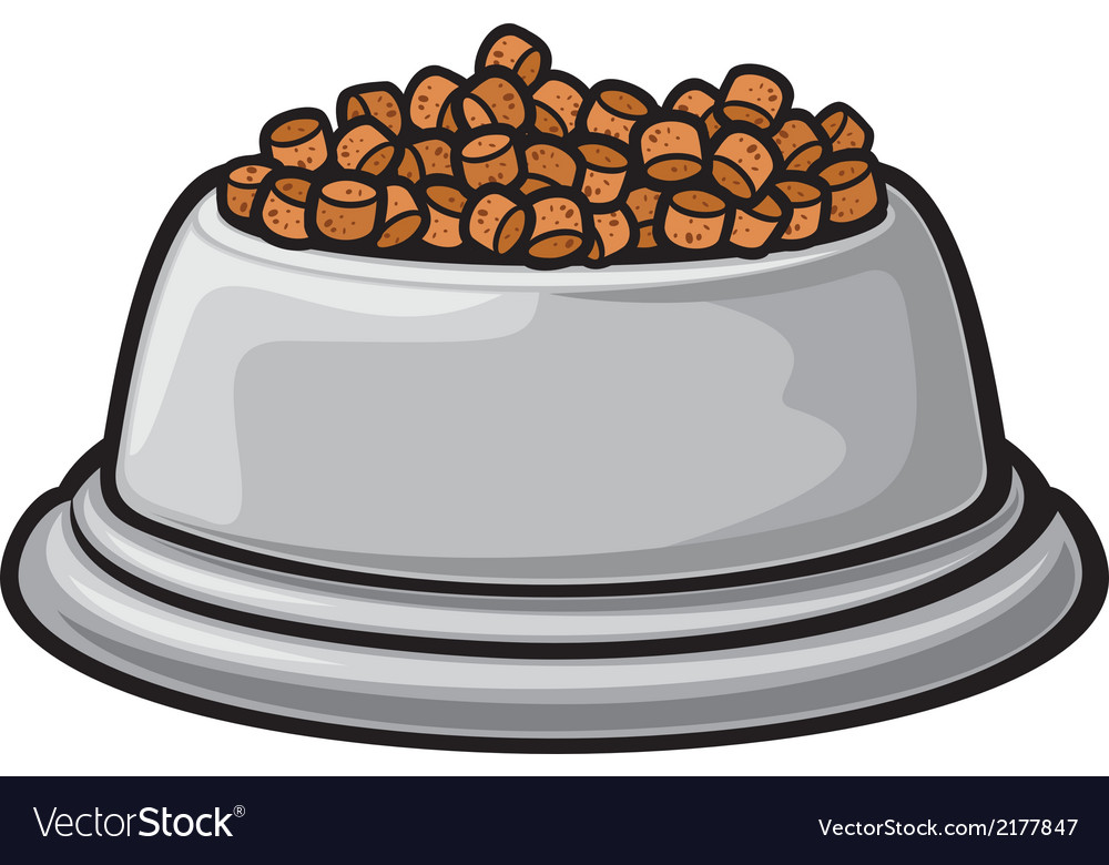 Bowl for animals vector | Price: 1 Credit (USD $1)