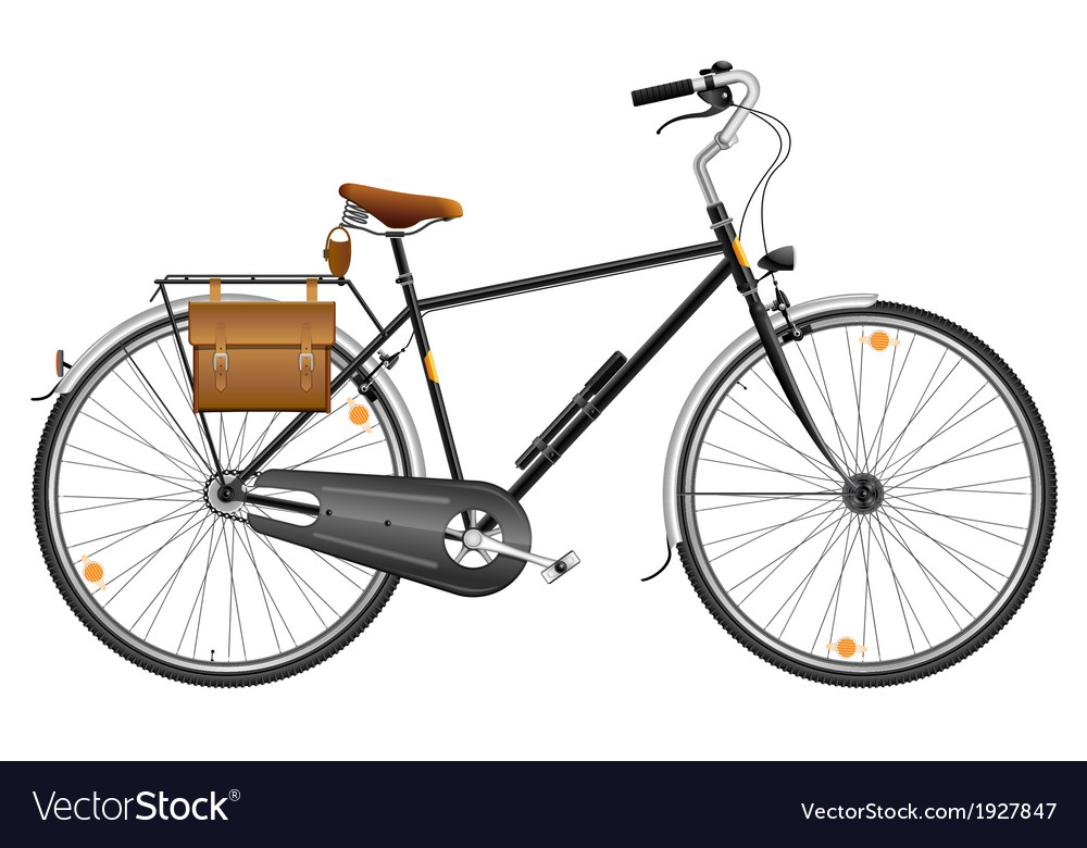 City bicycle vector | Price: 1 Credit (USD $1)