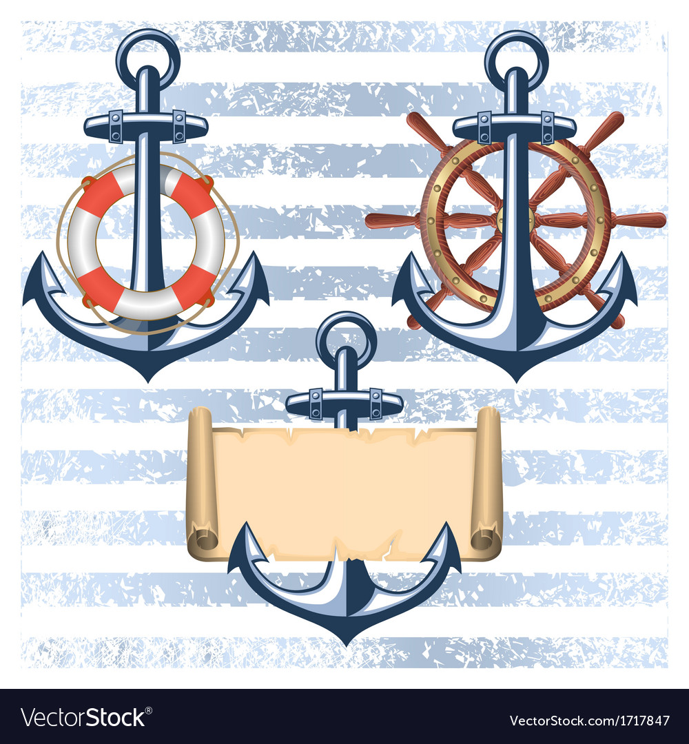 Nautical collection 5 vector | Price: 1 Credit (USD $1)